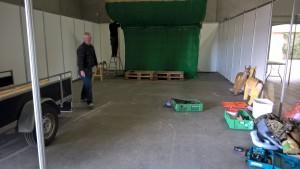 Anders og Henrik monterer pilefang