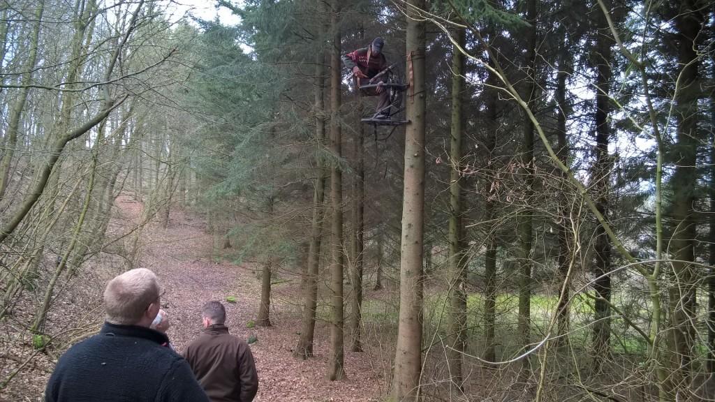 Der blev også tid til at afprøve Mortens nye climber